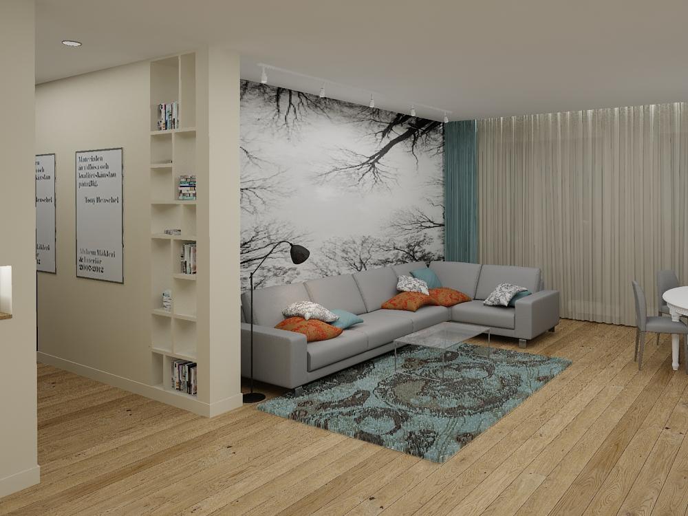 Дизайн интерьера квартирыДизайн интерьера квартиры